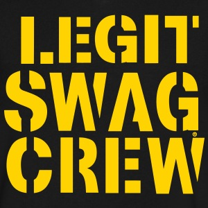 LEGIT SWAG CREW T-Shirts - Men's V-Neck T-Shirt by Canvas