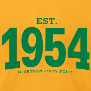 est. 1954 Nineteen Fifty Four - Men's T-Shirt by American Apparel