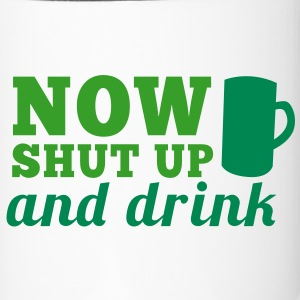 NOW SHUT up and drink large STEIN MUG of beer Accessories - Travel Mug