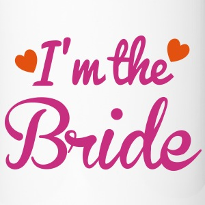 I'm the BRIDE wedding super cute hearts Accessories - Travel Mug