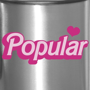 POPULAR! with cute heart funky sexy font Accessories - Travel Mug