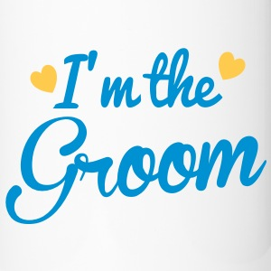I'm the GROOM with cute love heart Accessories - Travel Mug