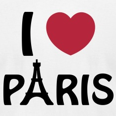 I love Paris T-shirts (manches courtes)
