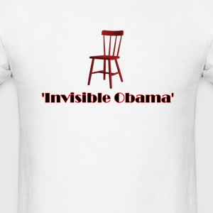 Empty Chair Meme invisible Obama - Men's T-Shirt