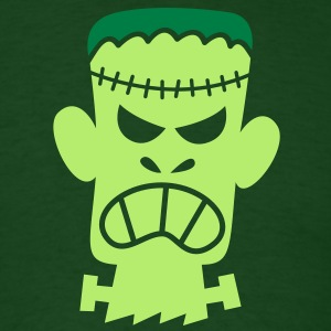 Angry Halloween Frankenstein T-Shirts - Men's T-Shirt