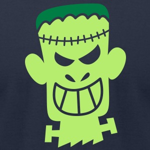 Naughty Halloween Frankenstein T-Shirts - Men's T-Shirt by American Apparel