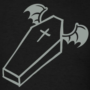Flying Halloween Coffin T-Shirts - Men's T-Shirt