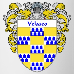 Velasco Coat of Arms/Family Crest - Coffee/Tea Mug