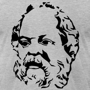 Socrates - Men's T-Shirt by American Apparel