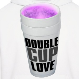 Double cup love. Hoodies - Men's Hoodie