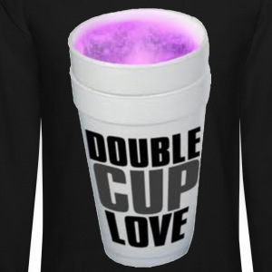 Double cup love. Long Sleeve Shirts - Crewneck Sweatshirt