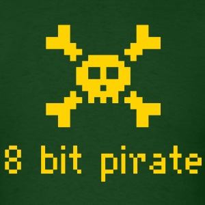 8 Bit Pirate - Men's T-Shirt