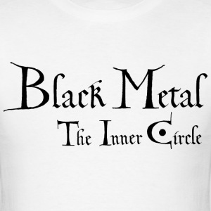 wrath of the tyrants, Black metal the inner circle - Men's T-Shirt