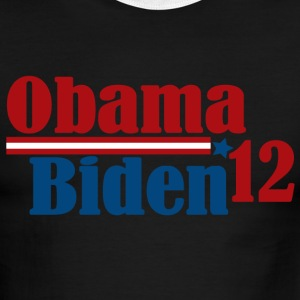 Re-Elect Obama Biden 2012 T-Shirts - Men's Ringer T-Shirt