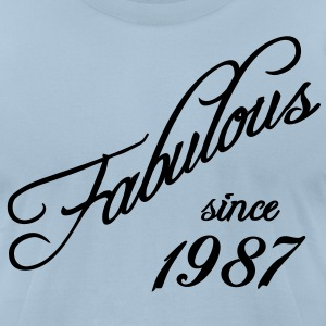 Fabulous since 1987 T-Shirts - Men's T-Shirt by American Apparel