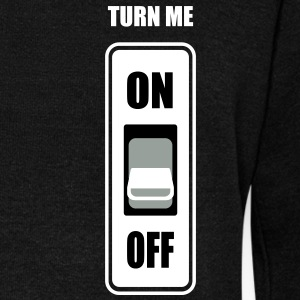Turn me on - Women's Wideneck Sweatshirt