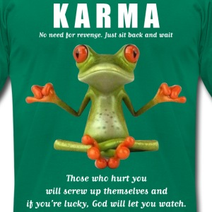 karma T-Shirts - Men's T-Shirt by American Apparel