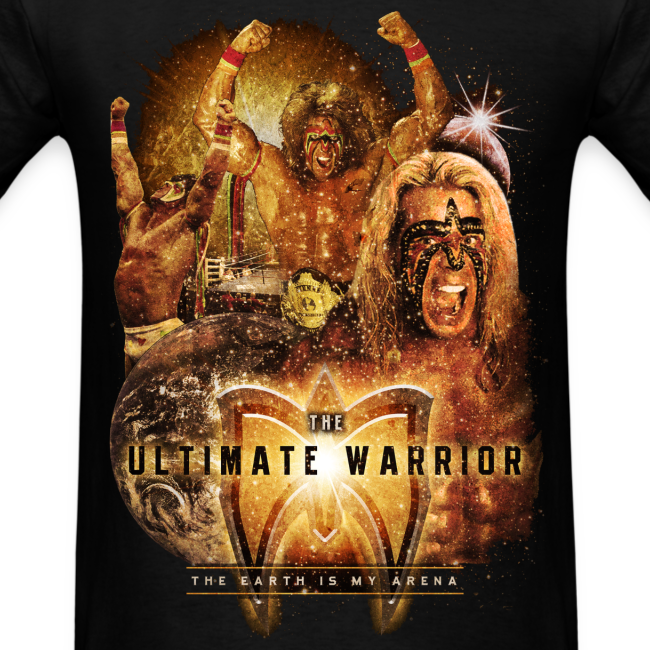 Ultimate Warrior The Earth Is My Arena Shirt