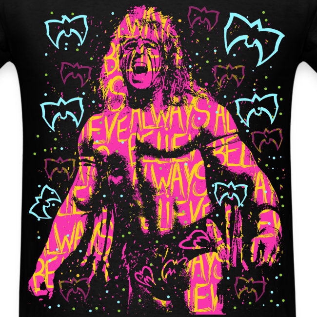 Ultimate Warrior Always Believe Retro Shirt