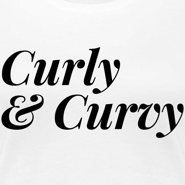 Curly & Curvy Tee