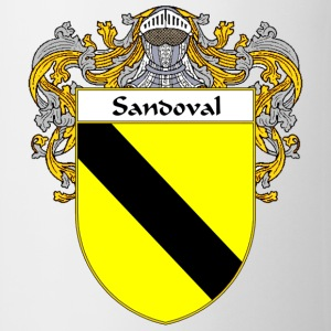 Sandoval Coat of Arms/Family Crest - Coffee/Tea Mug