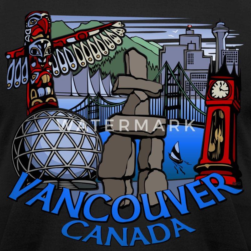 Vancouver Landmark Souvenirs T Shirt Spreadshirt