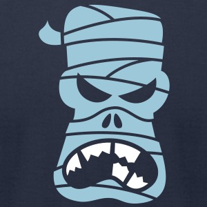 Angry Halloween Mummy T-Shirts - Men's T-Shirt by American Apparel