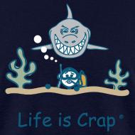 Design ~ Scuba Shark - Mens Classic T-shirt