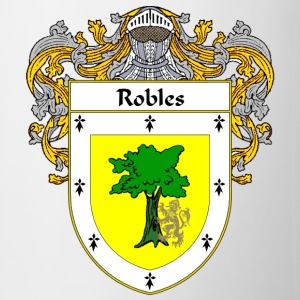 Robles Coat of Arms/Family Crest - Coffee/Tea Mug
