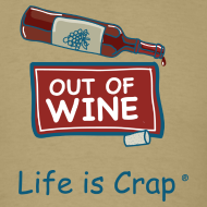 Design ~ Out Of Wine Bottle - Mens Classic T-Shirt