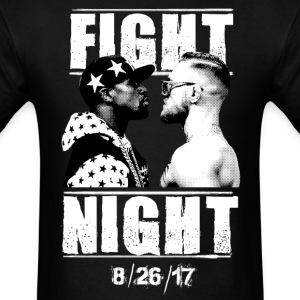 Floyd Mayweather vs Conor McGregor T-shirt - Men's T-Shirt