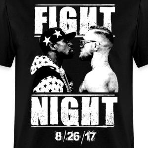 Floyd Mayweather vs Conor McGregor T-shirt - Men's T-Shirt