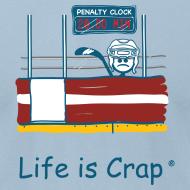 Design ~ Penalty Box Hockey - Mens T-Shirt by American Apparel