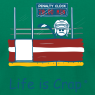 Design ~ Penalty Box Hockey - Mens T-Shirt by American Apparel