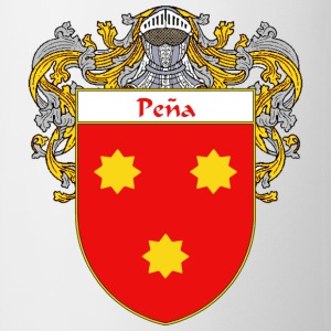 Pena Coat of Arms/Family Crest - Coffee/Tea Mug