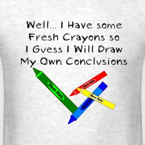 Box o Crayons - Men's T-Shirt