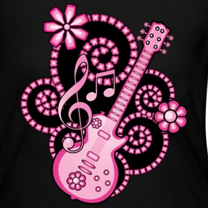 Girlie Guitar Long Sleeve Shirts - Women's Long Sleeve Jersey T-Shirt