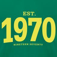 Design ~ est. 1970 Nineteen Seventy