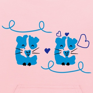 Cute guinea pig couple Kid's Hooded Sweatshirt - Kids' Hoodie