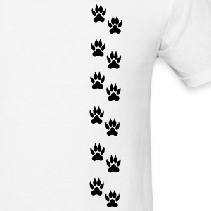 Lion footprints T-Shirts - Men's T-Shirt