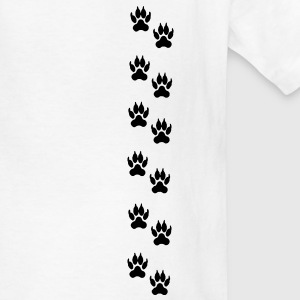 Lion footprints Kids' Shirts - Kids' T-Shirt