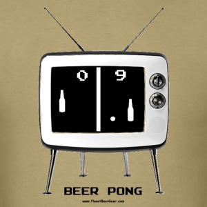 Beer Pong TV Retro T-Shirt - Men's T-Shirt
