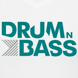 Drum n Bass - Women's V-Neck T-Shirt