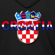 Design ~ Croatia Hrvatska logo Sahovnica 3D Sahovnica on sleeves