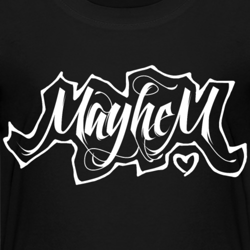 MayheM7 Logo-6 White