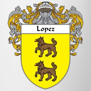 Lopez Coat of Arms/Family Crest - Coffee/Tea Mug