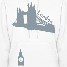 London Towerbridge  & Bigben Women's Hooded sweatshirt