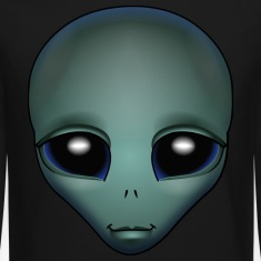 Friendly Alien Sweashirt Alien Grey Shirts ET Gifts