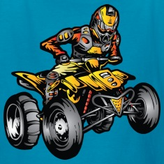 Suzuki ATV Quad Sand Rider Kids' Shirts