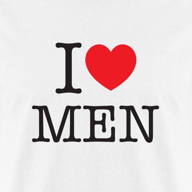 185e8c17 ADAM4ADAM apparel | I Love Men t-shirt - Mens T-Shirt